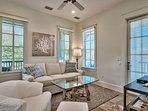 Enjoy time together in the upstairs family room.