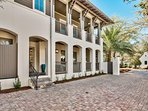 Park your car in the driveway and take a short walk to reach Rosemary Beach.
