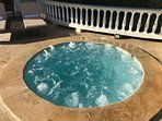 6 Person Tiled Hot Tub