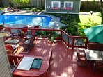 Private Guesthouse with Pool, Hot Tub, Large Deck and Beautiful Gardens!