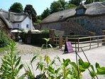 Village Centre and Weavers Cottage tea rooms