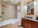Full bathroom2 with combination shower/tub