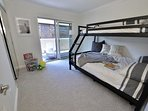 Third bedroom Twin over full with trundle below full