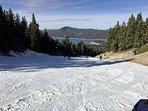 2.5 hours to ski at Big Bear