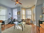 Experience D.C. from this 4-bedroom, 1-bathroom vacation rental apartment for 5.