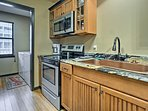 This space is fully equipped with updated appliances.