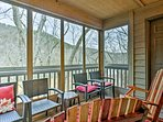 Enjoy early mornings and late evenings spent on the screened porch!