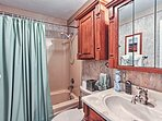 Freshen up in one of the home's 2 full bathrooms.