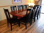 Dining area seats 10
