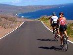 Road biking the back side of Haleakala is sublime.