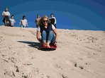 Go sand boarding at Little Sahara