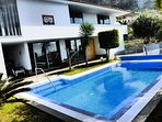 Tranquil yourself... Absolutely detached villa with the Ocean view.