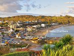 Saundersfoot, lovely Beaches, food and drink, less than 10 minutes away.