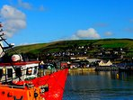 Dingle harbour......10 min walking