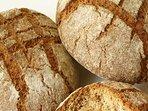 Czech sourdough bread