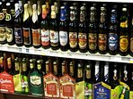 A wide range of Czech brewed beers are available in the shops