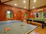 Club House Indoor Games. A place for Refreshment