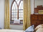 A characterful room, overlooking the garden