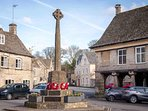 ...a picturesque, traditional Cotswolds village