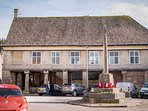 The property is just around the corner from the centre of Minchinhampton...