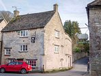 Peaceful, winding lanes lead out to the stunning Cotswold countryside