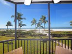 View from our Lanai - Absolutely Perfect. Watch the dolphins swim by!