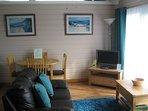 Cedar Lodge Living/Dining Area
