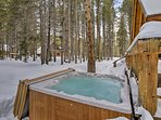 Every outdoor adventure should end with a dip in the hot tub!