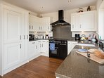 Fully fitted Kitchen with double oven Rangemaster