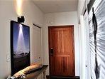 Entrance door & hall
