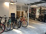 Owner Provides Beach Bikes for Guests!