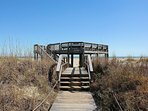 Only Observation Deck in Wild Dunes at Shipwatch!