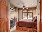 Guest Bedroom - Queen-sized bed.