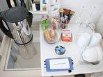 Coffee/tea making station