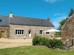 5 bedroom Villa in Trévou-Tréguignec, Brittany, France : ref 5436365