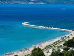 Omis sandy beach