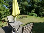 Fantastic position for al fresco dining and enjoying a relaxing sundowner or two
