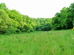 Couetilliec Cottages; Secret meadow, totally secluded and completely enclosed by woodland