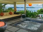 Popular villa for honeymoons
