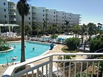 The view from our 1st floor unit,Waterscape,Fort Walton Beach/Destin,Florida