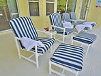 Recliner loungers and sun loungers