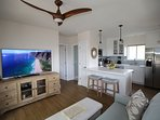Ultra-quiet split AC system and ceiling fans