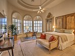 Experience the sweet life in this impressive master suite.