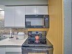 Effortlessly prepare meals with modern appliances.