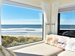 Picture Window - Read a book or watch the ocean waves.