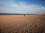 Magnifica playa de Xeraco a 100 metros.