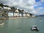 The unspoilt fishing village of Aberdovey only 10 miutes away.