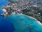 Aerial Shot of Reef-Rich Sosua Beach!