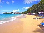 Sosua Beach (10 minute walk)!