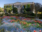 The stunning gardens at Mount Stewart - just over a mile from Greyabbey